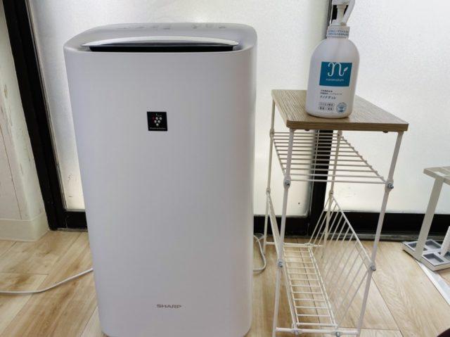 プラズマクラスター空気清浄機を完備